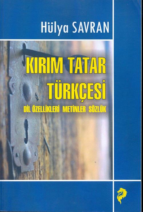 B0912108 Kırım Tatarlarının Türkçesi